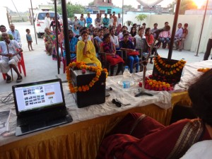Digital components handover to Sachendi panchayat