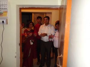 Innauguration og Sachendi Panchayat as a Digital Panchayat by Mr. Shambhoo ji